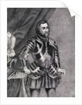 Hernan Cortes, Marques del valle de Oaxaca by Spanish School
