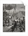 A Friendly Tournament during the Third Crusade in 1189 by Gustave Dore