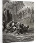 Death of Almoadam by Gustave Dore