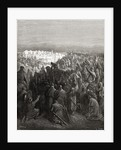 Desperate Encounter in gun-boats between Nelson and Don Miguel Tyrason by Gustave Dore