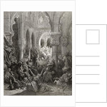 The Crusaders massacre the inhabitants of Caesarea by Gustave Dore