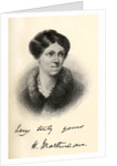 Harriet Martineau illustration from 'Little Journeys to the Homes of Famous Women' by Margaret Gillies