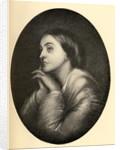 Christina Georgina Rossetti by Dante Gabriel Rossetti