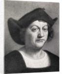 Christopher Columbus by English School