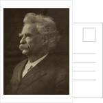 Mark Twain by American School