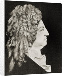 Louis XIV King of France in 1706 by or Benoit du Cercle