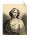 Louise Francoise de La Baume Le Blanc Duchesse de La Valliere by French School