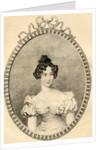 Marie-Caroline de Bourbon Duchesse de Berry by French School