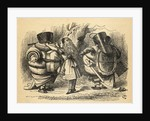 The Battle over the Rattle by John Tenniel