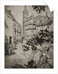 View of Seville Cathedral by English School