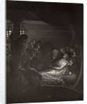 The Death of Nelson illustration from 'The Life of Nelson' by Robert Southey first published 1813 by Richard Westall