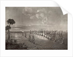 The Battle of the Nile in 1798 by Richard Westall