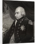 John Jervis 1st Earl of St. Vincent by English School