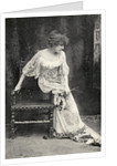 Sarah Bernhardt in 'Camille' by French School