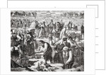 Labourers working in the Champ de Mars by French School
