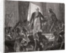 King Louis XVI Drinks to the Health of the Nation, 20th June 1792 by H. de la Charlerie