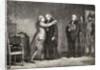 King Louis XVI Meets with De Malesherbes by H. de la Charlerie