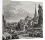 Caen in the 18th Century by French School