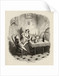 Mr Claypole as he appeared when his master was out by George Cruikshank