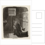 Fagin in the condemned cell by George Cruikshank