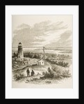 Sandy Hook New Jersey, seen from the lighthouse in the 1870s by Reverend Samuel Manning