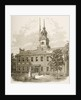 County Court House or Independence Hall, Philadelphia Pennsylvania by Reverend Samuel Manning