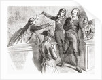Danton and Desmoulins defend themselves before the Convention by French School
