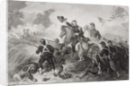 General Lyon's charge at the Battle of Wilson's Creek, Missouri by Felix Octavius Carr Darley