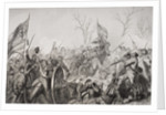 Capture of the Confederate flag at the Battle of Murfreesboro in 1862 by Alonzo Chappel