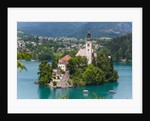 Bled, Slovenia. Church of the Assumption, Bled Island by Unknown