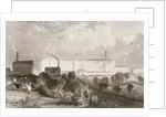 Swainson Birley & Co. factory near Preston, Lancashire by Thomas Allom