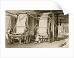 Calico printing in a cotton mill by Thomas Allom