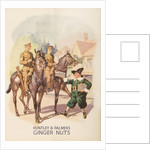 Advertisement for Huntley and Palmers Ginger Nuts by English School