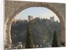 View across Albaicin to La Alhambra by Unknown