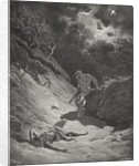 The Death of Abel, Genesis 4:6-13 by Gustave Dore
