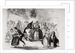 Christmas Eve at Mr. Wardle's by Hablot Knight Browne