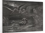 The Child Moses on the Nile, Exodus 2:1-4 by Gustave Dore