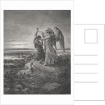 Jacob Wrestling with the Angel, Genesis 32:24-32 by Gustave Dore