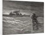 Jesus Walking on the Sea, John 6:19-21 by Gustave Dore