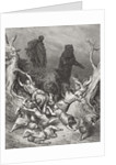 The Children Destroyed by Bears by Gustave Dore