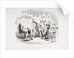 Friendly behaviour of Mr. Bucket by Hablot Knight Browne
