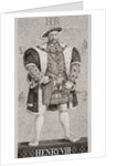Henry VIII from 'Illustrations of English and Scottish History' Volume I by J.L. Williams