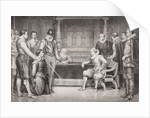 Guy Fawkes interrogated by James I and his council in the King's bedchamber by William Ralston