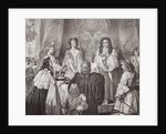 The crown offered to William and Mary by the Lords and Commons at Whitehall, February 12, 1689 by Edgar Melville Ward