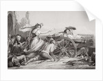 The Defence of Saragossa, 1808 by Sir David Wilkie