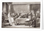 Queen Victoria's first Council by Sir David Wilkie