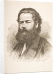 Henrik Ibsen by Hans Peter Hansen