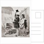 G. M. Bourne's Print and Bookshop, 359 Broadway, New York by Amédée de Noé
