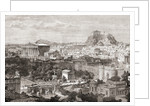A view of ancient Athens by Anonymous