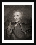 Daniel Boone 1734 to 1820. American explorer, frontiersman, pioneer and legendary hero by Anonymous